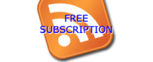 RSS free subscription icon